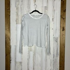 Rag & Bone Jeans Long Sleeve Striped Top Size XS w